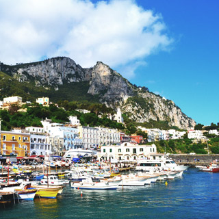 One of the pearls of the Gulf of Naples: the island of Capri
